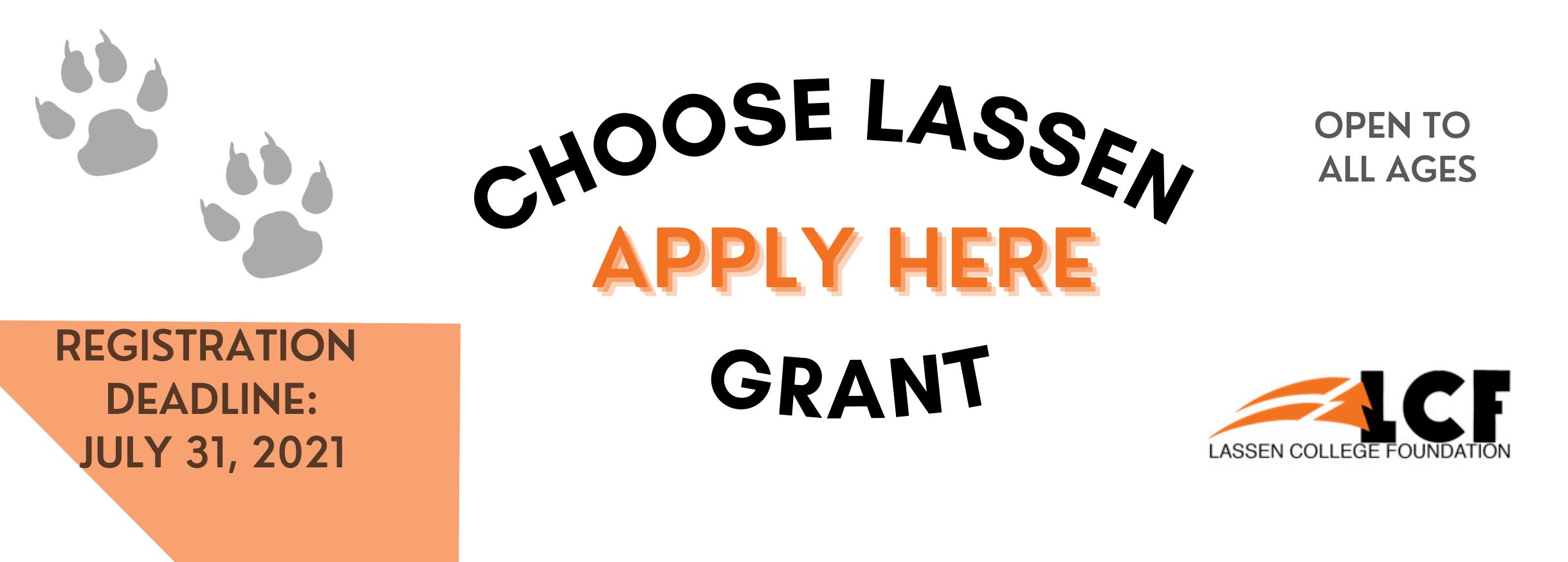 LCF Grant Application