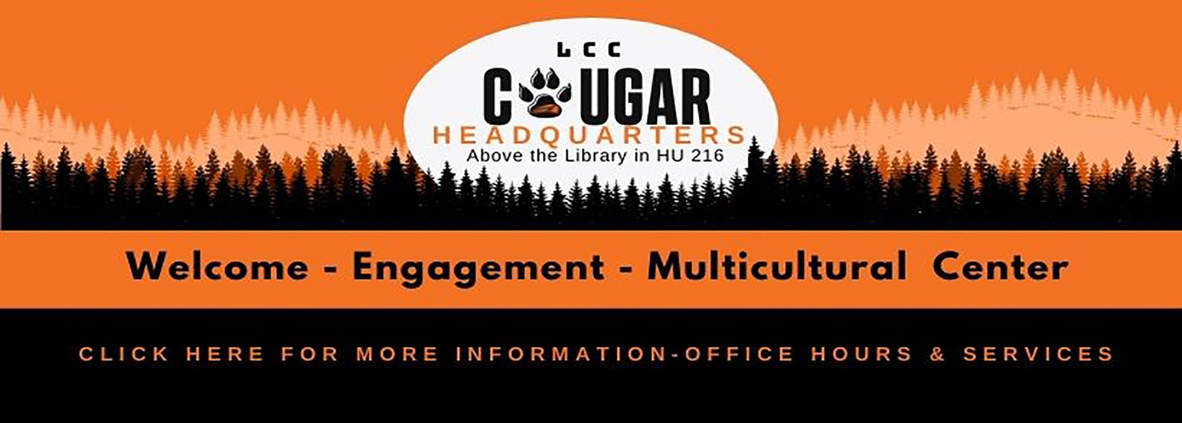Get help at LCC's Welcome Center in Humanities Building Monday, Wednesday, and Thurusday 8:30am - 4:00pm