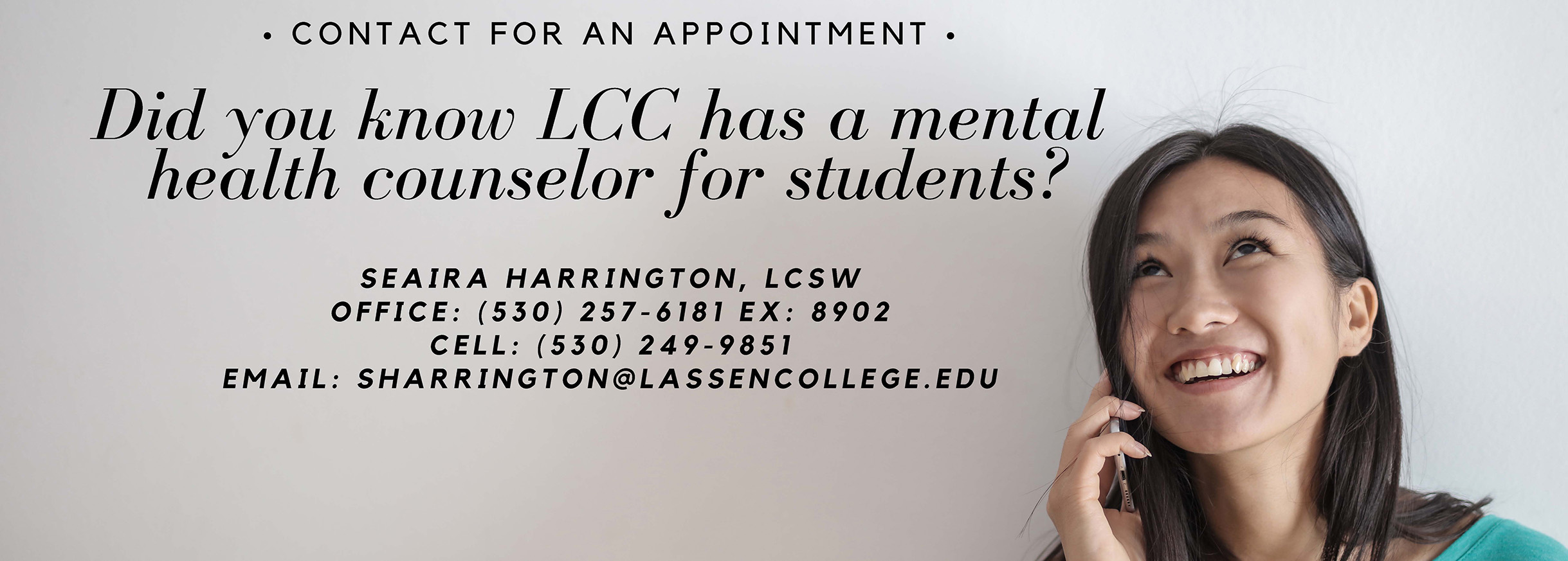 Mental Health Counselor Available
