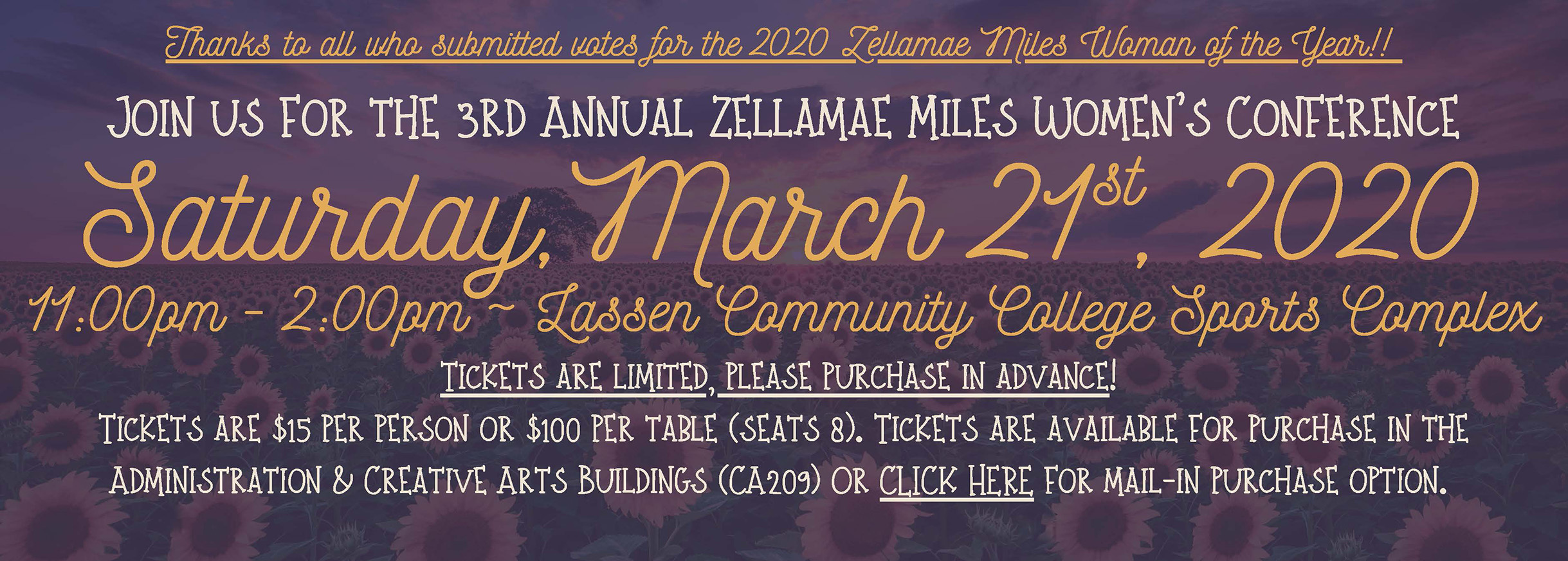Zellamae Women's Conference